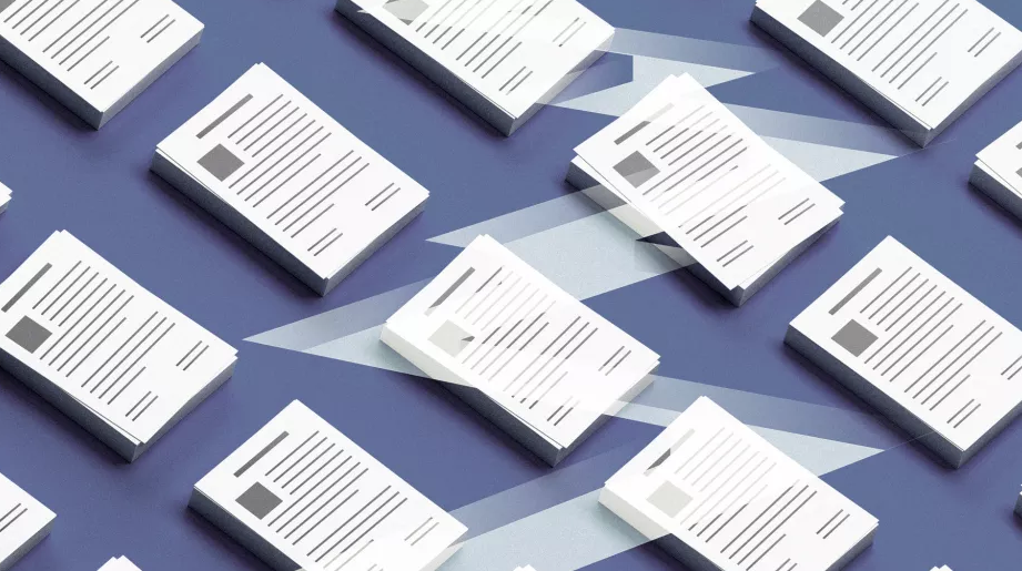 multi images of resumes lined up