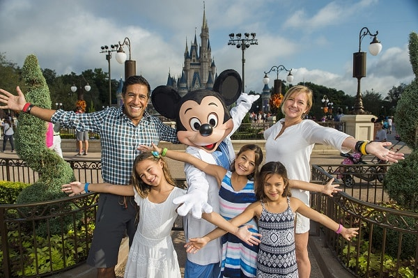 Dr. Sanjay Gupta And Family Visit Walt Disney World Resort