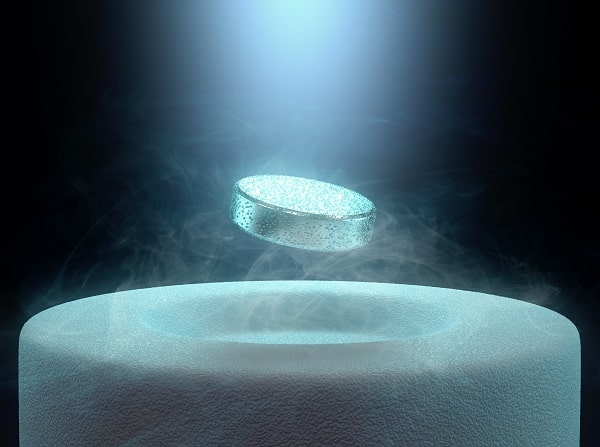 Superconductor stock image