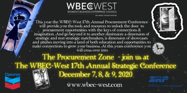 WBEC-West 17th Annual Strategic Conference Flyer