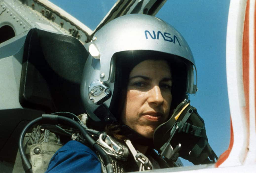 Ellen Ochoa training with NASA