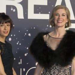 Emmanuelle Charpentier and Jennifer Doudna at an event together