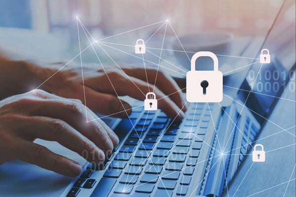 internet security and data protection concept, cybersecurity