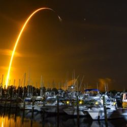 A SpaceX shipment of ants, avocados and a human-sized robotic arm rocketed toward the International Space Station on Sunday.