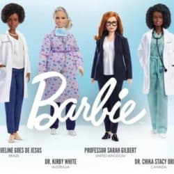 New Barbie honor six women in health care who have been on the front lines in the fight against COVID-19.