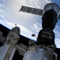 A new Russian module, named Nauka, suddenly fired its thrusters after docking at the International Space Station on Thursday.
