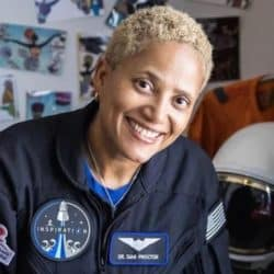 Dr. Sian Proctor has made history as the first Black woman to serve as a pilot of a spacecraft when SpaceX's Inspiration4 Mission launched on Wednesday.