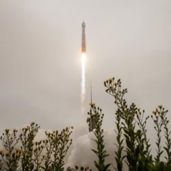 Landsat 9, a NASA satellite built to monitor the Earth's land surface, successfully launched at 2:12 p.m. EDT Monday from Vandenberg Space Force Base in California.