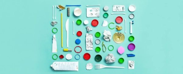 photo of recycling products