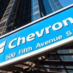 Chevron has set a target to cut emissions to net-zero by 2050 for equity upstream Scope 1 and 2 emissions.